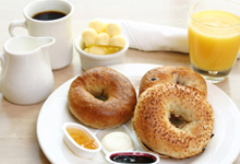 Home-style breakfast included in the price