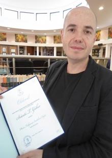 Szántó T. Gábor kapta a Hévíz folyóirat irodalmi díját
